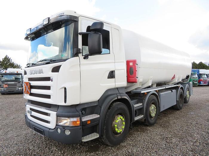 God 2009 Scania R480 8x2*6 24.000 l. ADR Euro 5