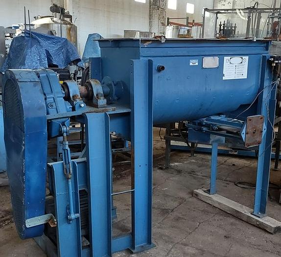 Used 7 cuft Falcon Ribbon Blender stainless steel