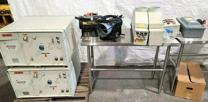 Aetek Fusion Industrial Ultraviolet UV Curing System Model XLW250134ANIS