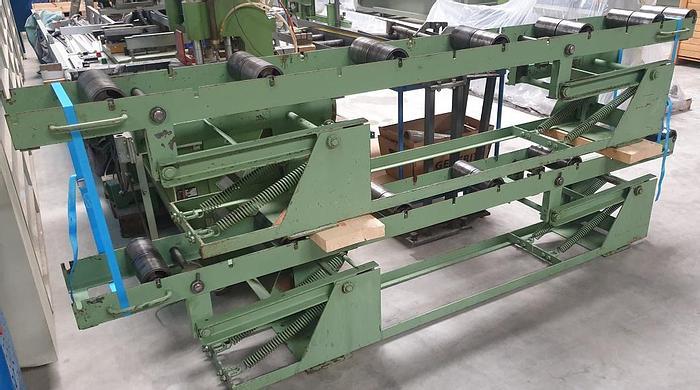 Gebraucht Höhenverstellbare Rollenbahn 3000 mm Peddinghaus