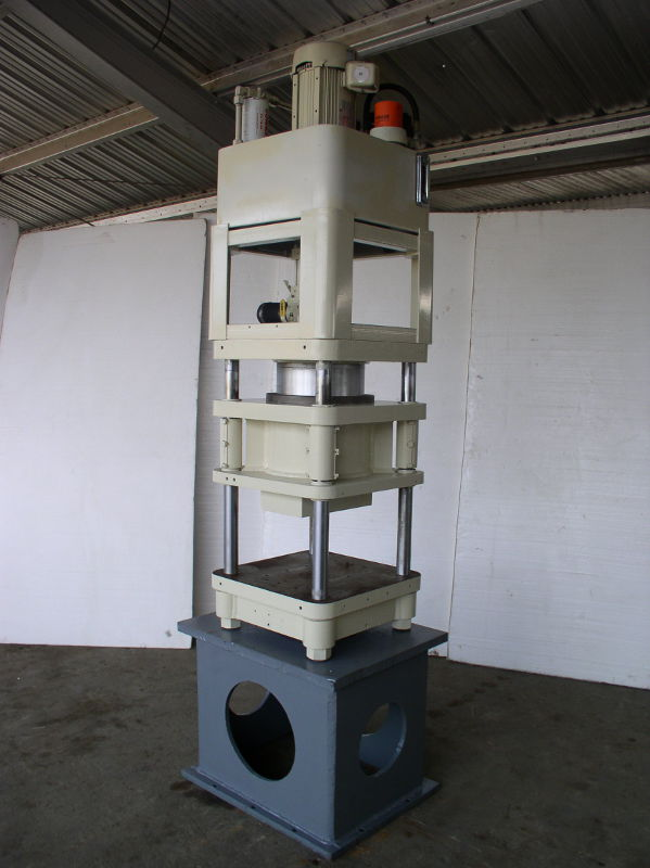 80 Ton Fisher / Precision 4 Post Hyd. Press; Up Acting Type; Mfg. 2006