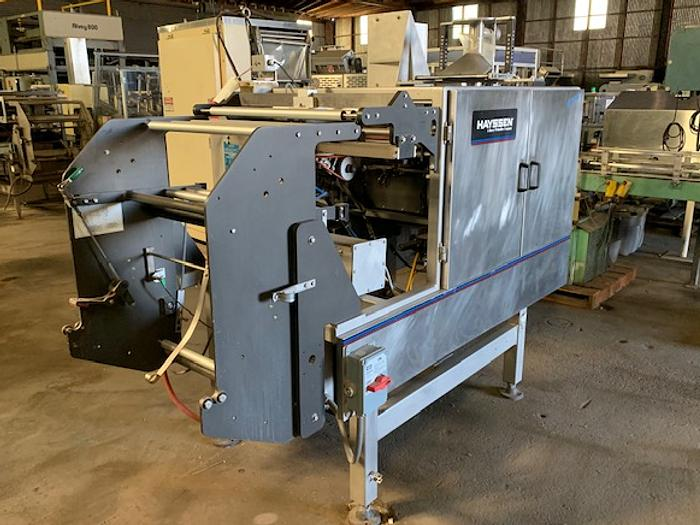 Hayssen Ultima  Form Fill & Seal Bagger