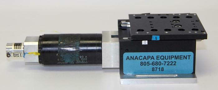 Used Maxon 118799 DC Motorized Translation Stage For Micromanipulators, 70W (8718)W