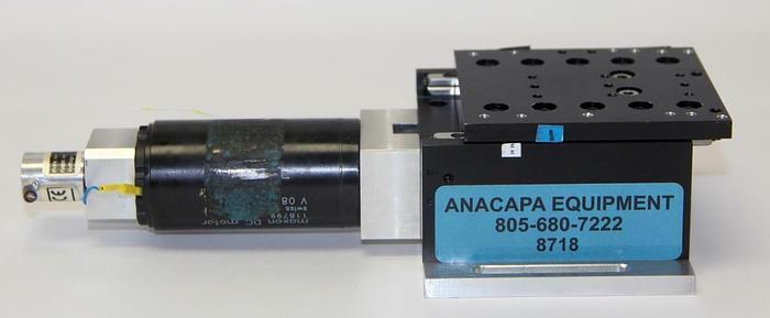Used Maxon 118799 DC Motorized Translation Stage For Micromanipulators, 70W (8718)W