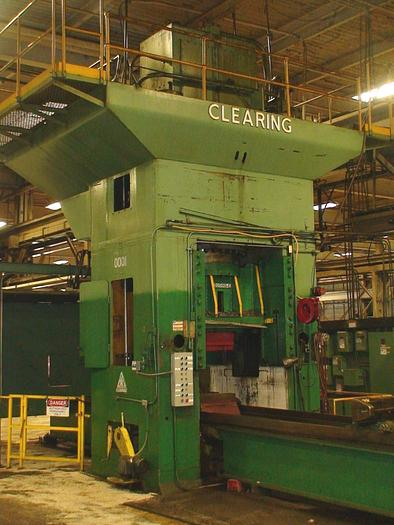 Used 2000 ton Clearing Hydraulic Press