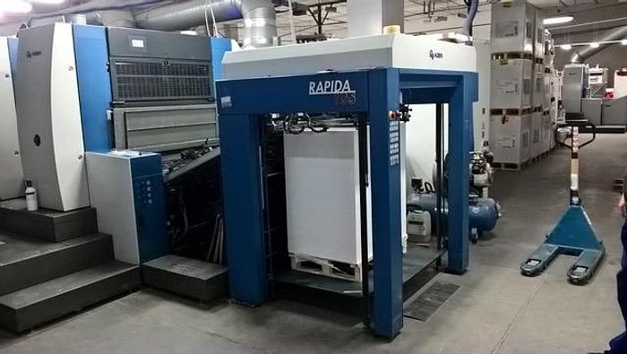 Used KBA Rapida 105-4 L ALV2