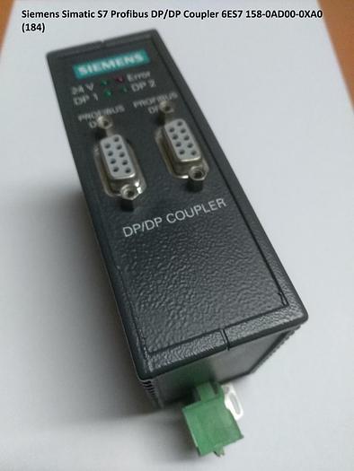 Gebraucht Simatic S7 Profibus DP/DP Coupler, 6ES7 158-0AD00-0XA0, Siemens