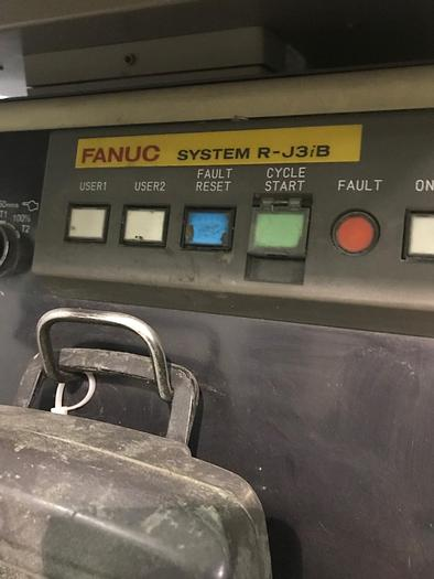 ACME/FANUC ROBOTIC POLISHING CELL WITH FANUC M710IB/45 ROBOT