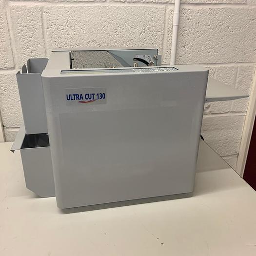 Used Ultra Cut 130 Business Card Cutter