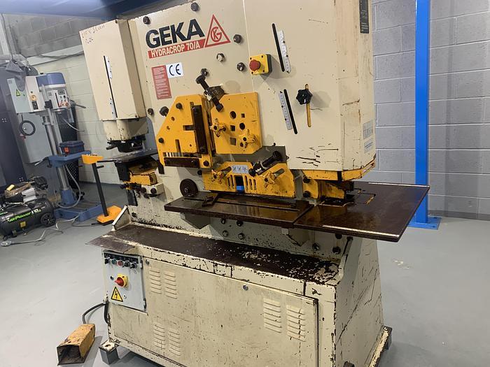 Used Geka HYDRACROP HYD -70  Ton 2 Cylinder steelworker