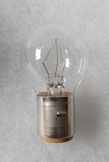 6 Stück Lampen BA 20S, Dr. Fischer, 80V, 35W, Neu -50%