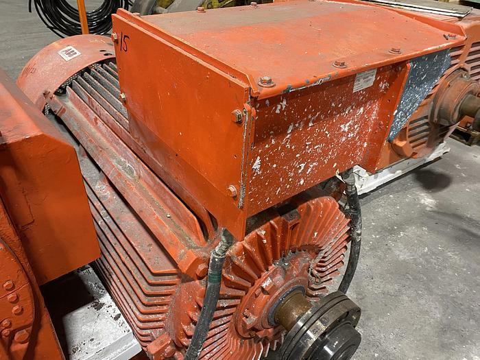 Used 600 HP ABB MOTOR UNUSED SPARE