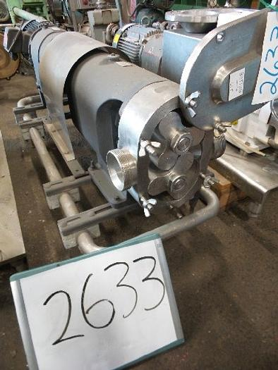 Used Cherry-Burrell 3'' Positive Displacement Pump