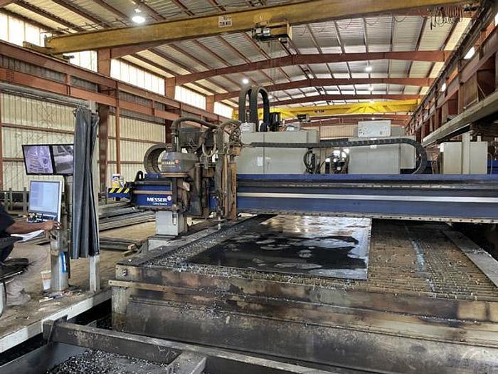 Used 3132, Messer, TMC4512DB, 10' x 46' CNC Plasma Cutting Machine, 2017