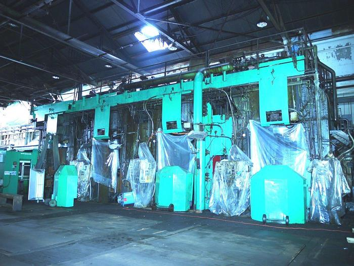 """Used 60"""" Steel 4-Stand Tandem Cold Rolling Mill: RM-387"""
