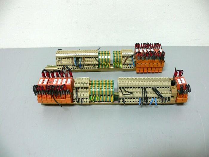 Used Weidmuller Terminal Blocks & Relays - DK4QV (x48) EK4 (x14) & RP 011024 (x15)