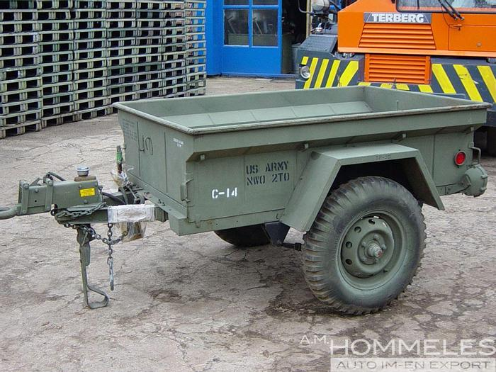 Used M416 trailer w/service brake