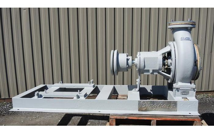 "Used USED CENTRIFUGAL PUMP, 12"" X 8"" INLET & OUTLET, STAINLESS STEEL"