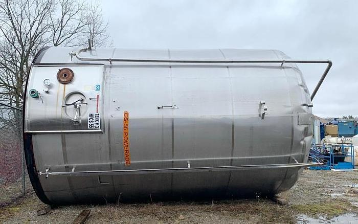 USED 15,000 GALLON STAINLESS STEEL TANK