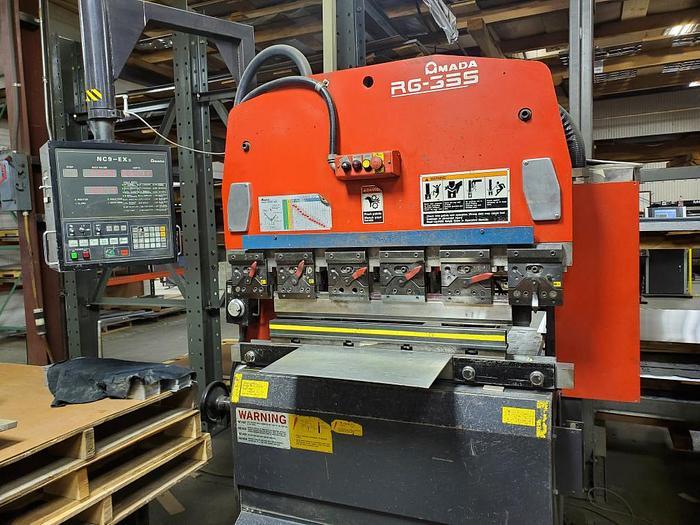 1998 38 Ton Amada RG-35S CNC Press Brake