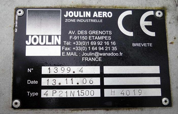 2006 Joulin Aero  Automatic assembly plant Joulin Aero P21N