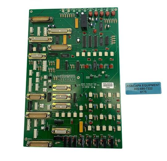 Used August Technology Corp. 200482 REV H NSX System I/O Board (8175)W