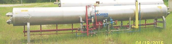 Used Morris Ammonia Water Chiller; Md#WRC.RA.5026.STS