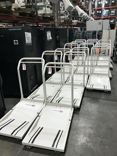 "Tecnau / Lasermax 18"" Paper Roll Carts - Roll to Roll Tecnau"