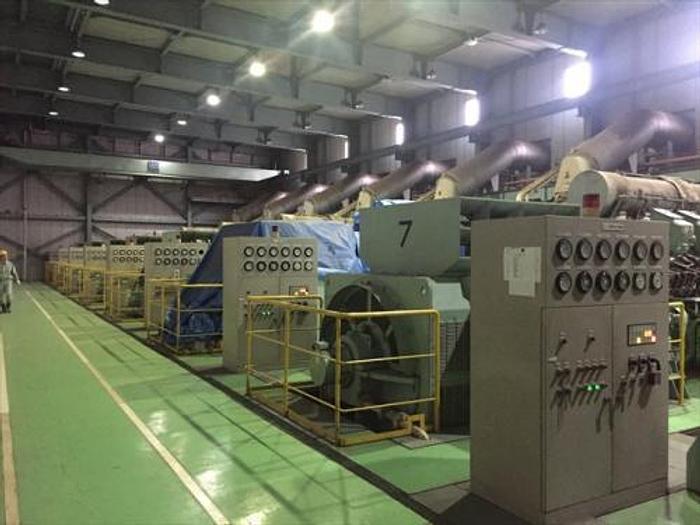5.6 MW 1999 Used Mitsubishi 18KU30A Diesel Generator
