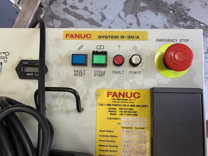 FANUC M430iA/4FH 5 AXIS CNC ROBOT WITH R30iA CONTROLLER