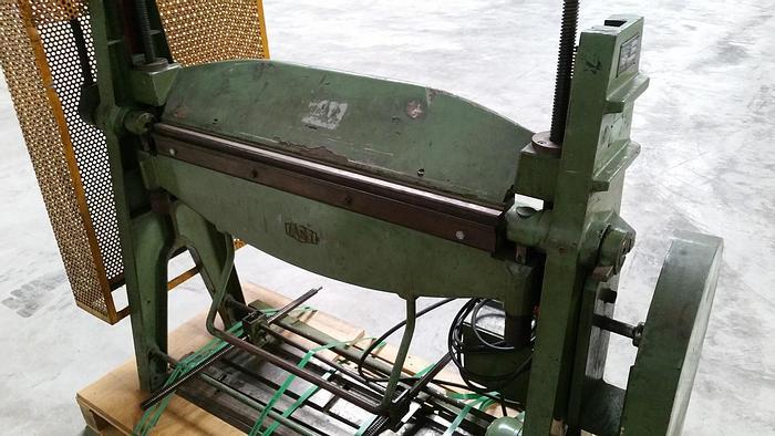 Gebraucht Manuelle Schwenkbiegemaschine Fasti 204-10-2