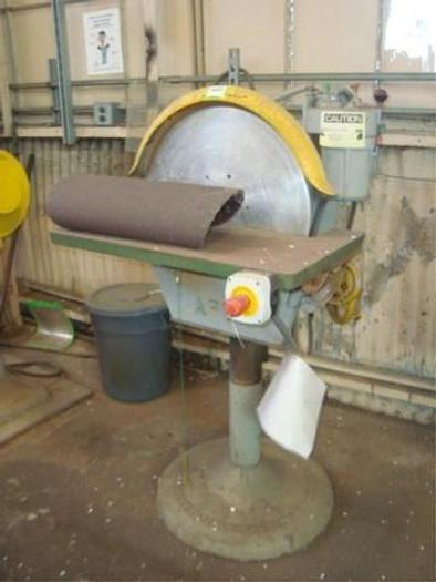 "Used APEX, No. 20, 20"" DIAMETER WHEEL, 2 HP  TILT TABLE   Our stock number: 5567"