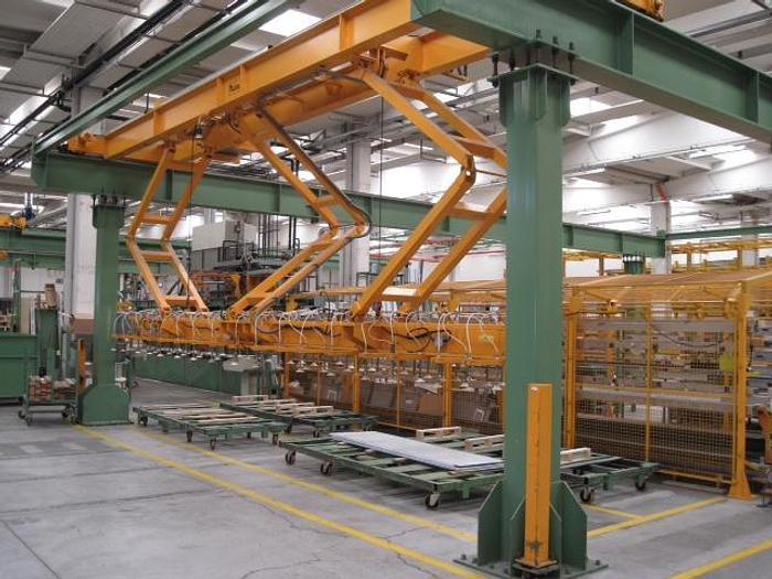 "Used 63"" Polyurethane Sandwich Panel Line: RF-200"