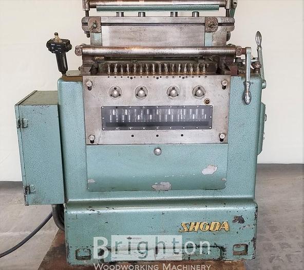 Used Shoda Used Dovetail machine, Model DV 131