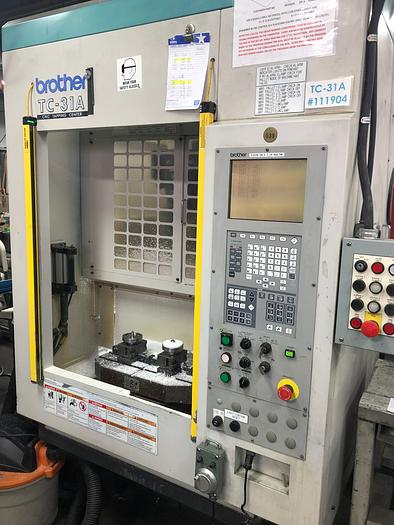 Used Brother Tc-31A Cnc Drilling & Tapping Center