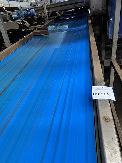 Used Steel Conveyor Belt 7m L 1m W