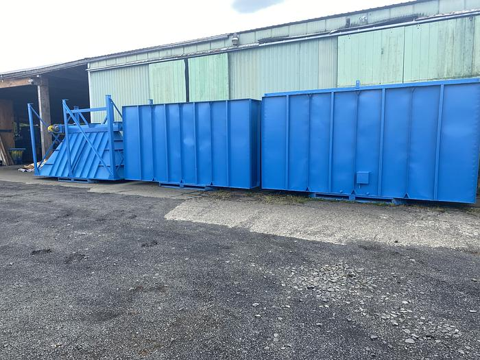 Used Donaldson Day 256- HRW- 8, pulse jet baghouse dust collector, 2,547 filter cloth area, 25,000 to 41,000 CFM airflow range
