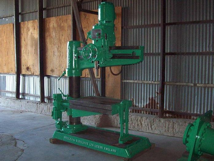 "Used 4' x 8"" Richmond Model S.R.2. Radial Arm Drill"