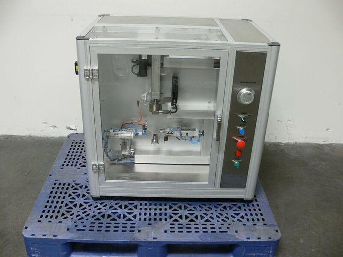 Used SHL Group Scandinavian Health 0145B-E028 Spring Loading Force Testing Machine