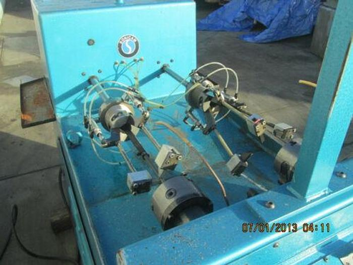SONICAM MODEL RS4P PLUNGER POLISHING MACHINE FOR GLASS MOLDS, ETC.