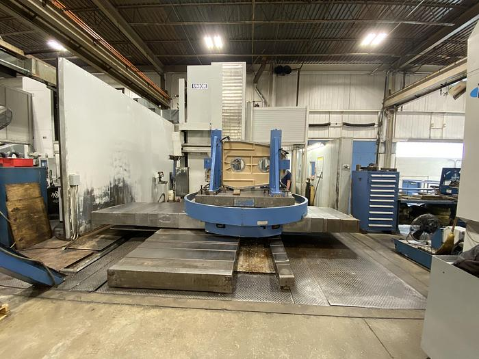 "Used UNION 5"" CNC HORIZONTAL BORING MILL MODEL TC 130"