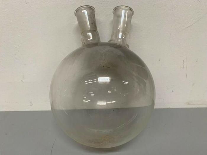"Used Short Path Distillation Glassware w/ Two 1.5"" Openings"