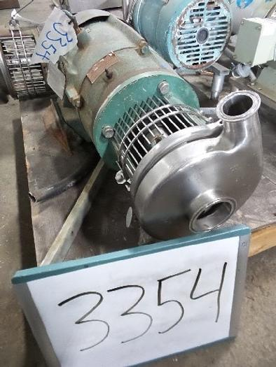 Used Tri-Clover 2 1/2'' x 1 1/2'' Centrifugal Pump #3354