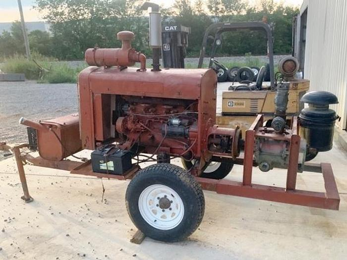Used Portable 9″ Diesel Cement Transfer Blower