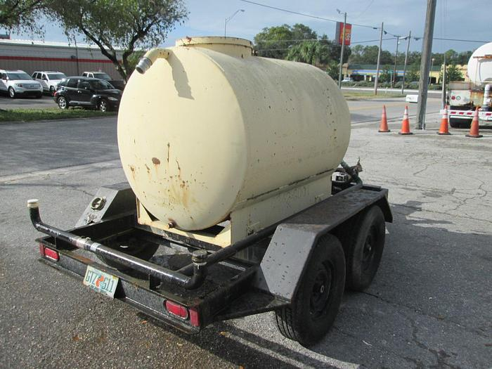 500 Gallon Water Trailer With Honda Engine And Pump 500