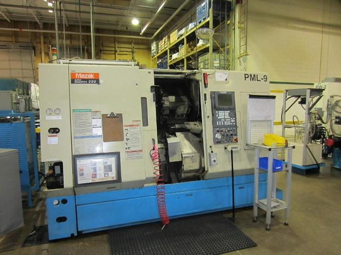 Mazak Super Quadrex 200, SQR-200 4 Axes CNC Turning Centre 5384