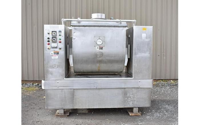 Used USED ROLLER BAR DOUGH MIXER, MAGNA, MODEL: 500H 202, 1000 LB CAPACITY, STAINLESS STEEL, JACKETED