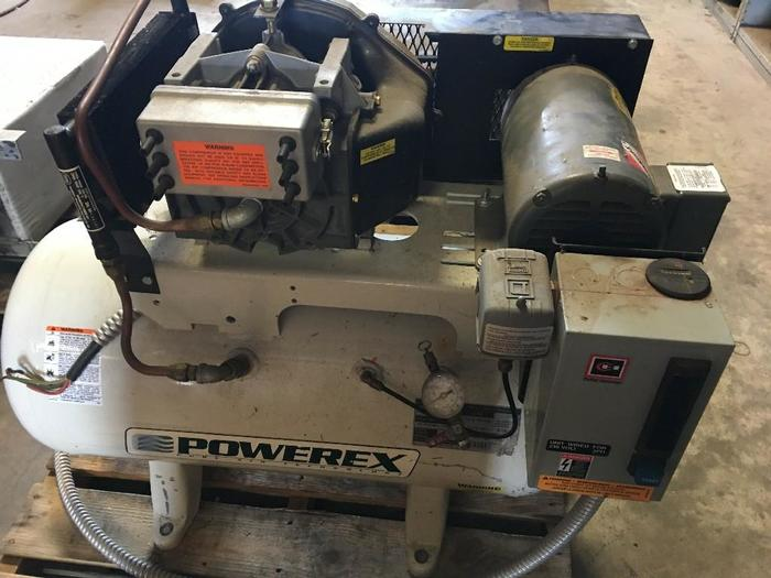 USED POWEREX AIR COMPRESSOR, MODEL # STS030132