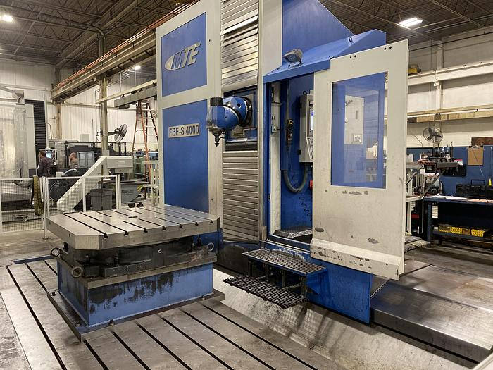 Used 2011 MTE MODEL FBF-S 4000 CNC TRAVELING COLUMN UNIVERSAL MACHINING CENTER