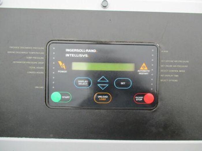 1996 INGERSOLL RAND MODEL SSR EP30 SE SCREW AIR COMPRESSOR 30 HP 125 CFM 125 PSI